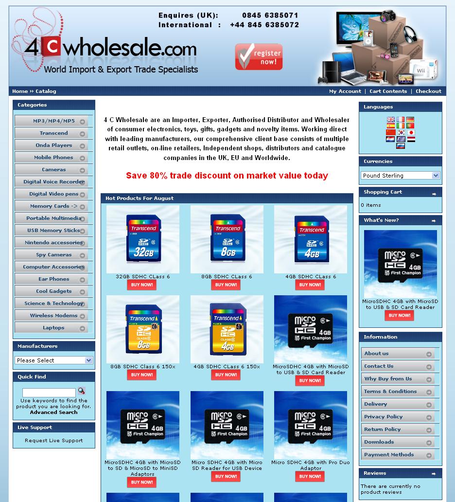 4Cwholesale.com