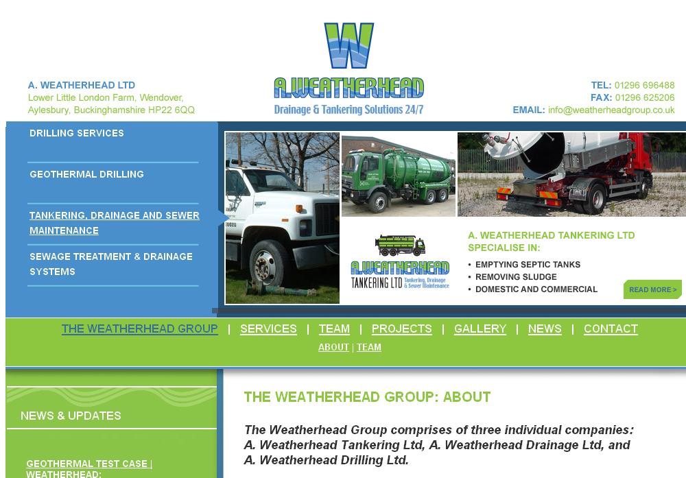 Weatherhead Tankering