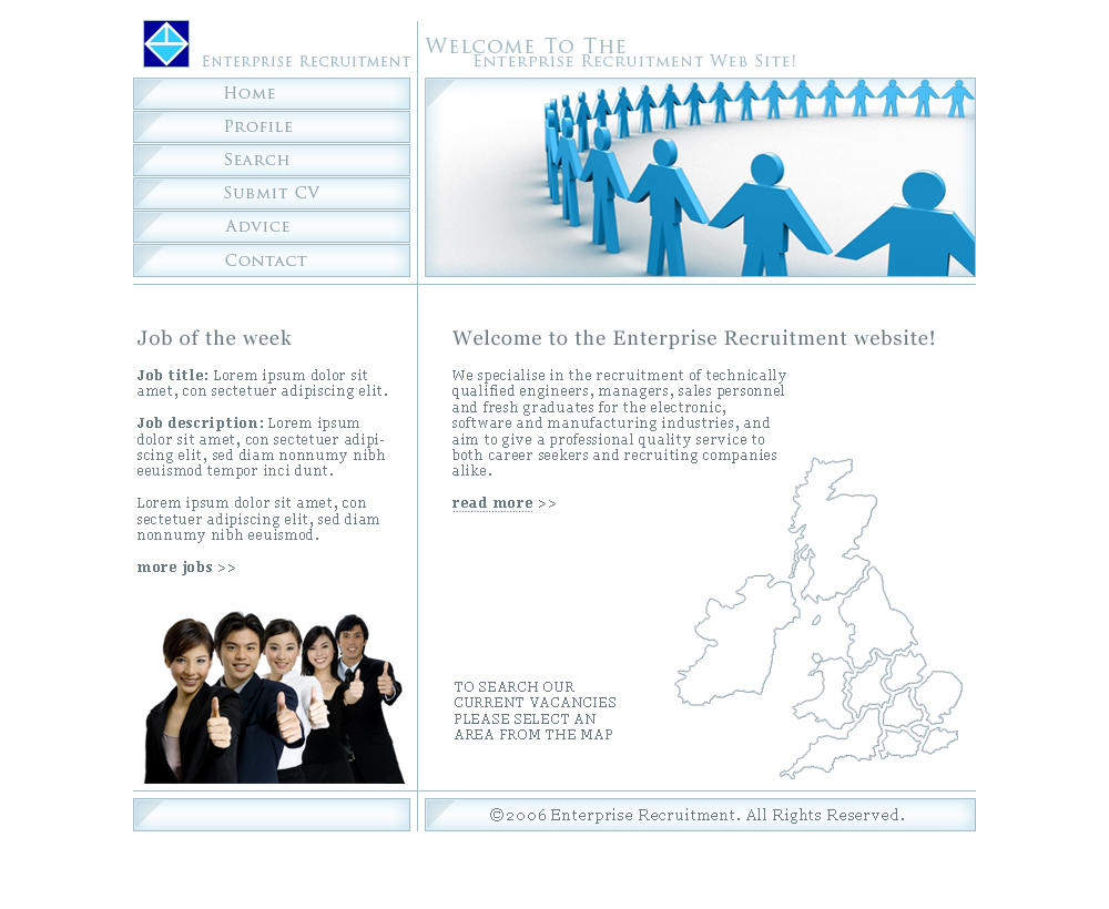 Recruitment Company Website